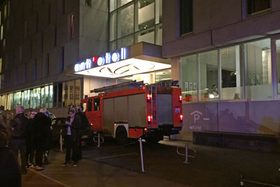 Feueralarm Hotel Berlin