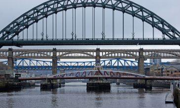 Mit der Fähre nach Newcastle upon Tyne