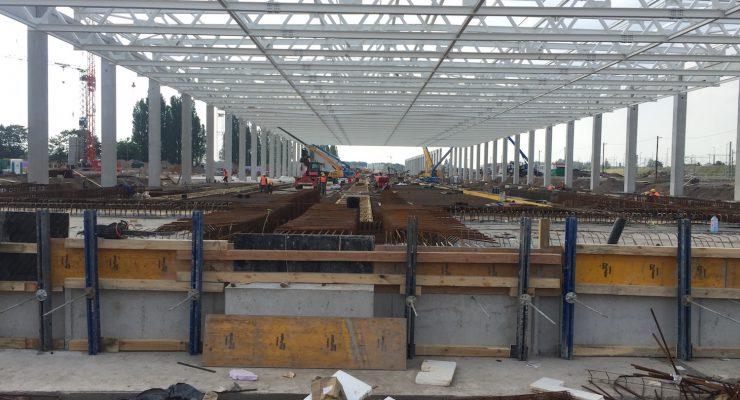 Baustellenbesuch: In Nippes entsteht ein neues ICE-Werk