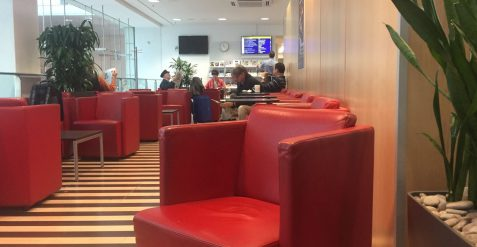 DB Lounge: Oase im Chaos
