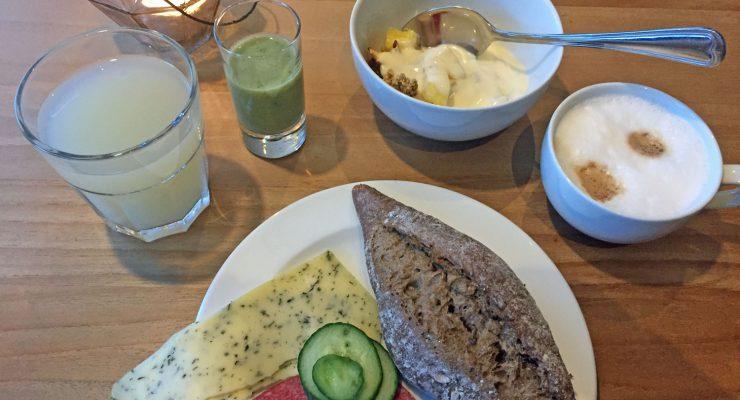 Frühstück im Boutique Hotel Texel