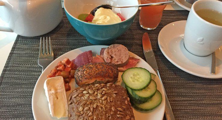 Frühstück im Best Western auf Usedom
