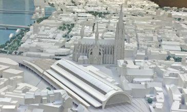 Besuch beim Kölner Stadtmodell