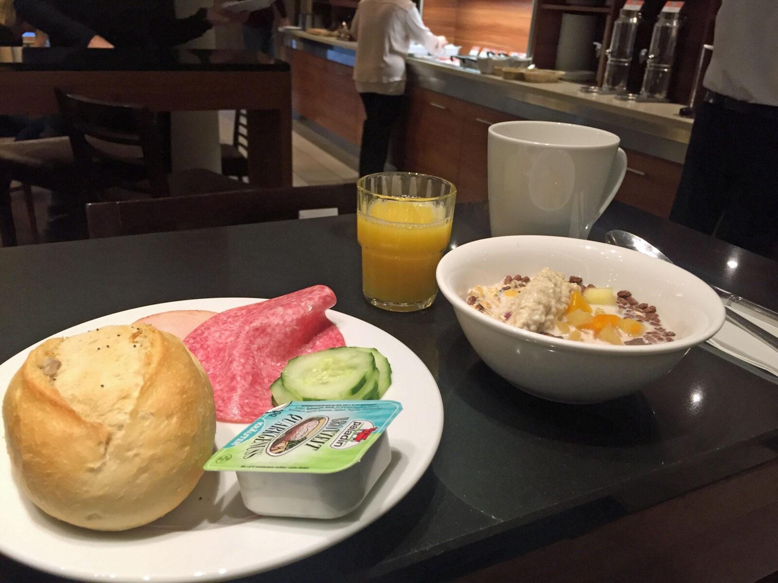 Genial Guten Morgen Frühstück Dekoration Von Das Frühstück Im Holiday Inn City Center